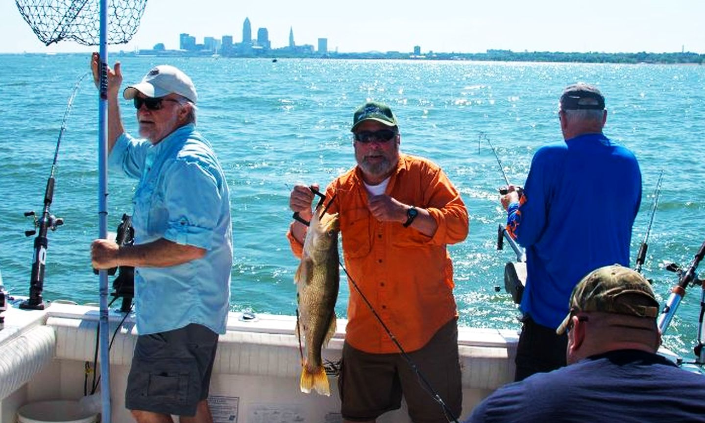 Cleveland metroparks for Ohio fishing report 2017