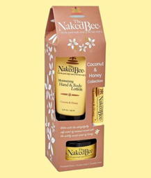Naked Bee Gift Set - Coconut and Honey