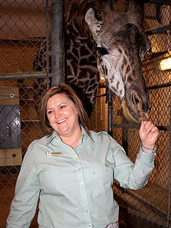 Cleveland Metroparks Zoo Welcomes New Curator Andi Kornak