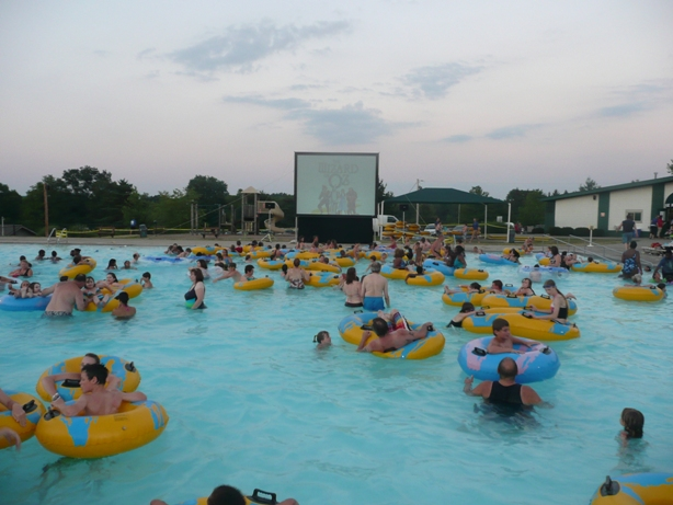JUMP INTO SUMMER WITH THE DIVE-IN MOVIES AT LEDGE POOL