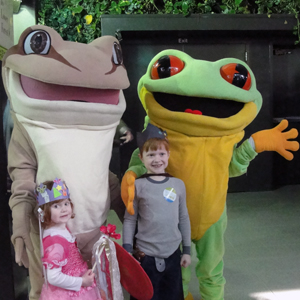Hop on down to Cleveland Metroparks Zoo for Fairytales & Frogs