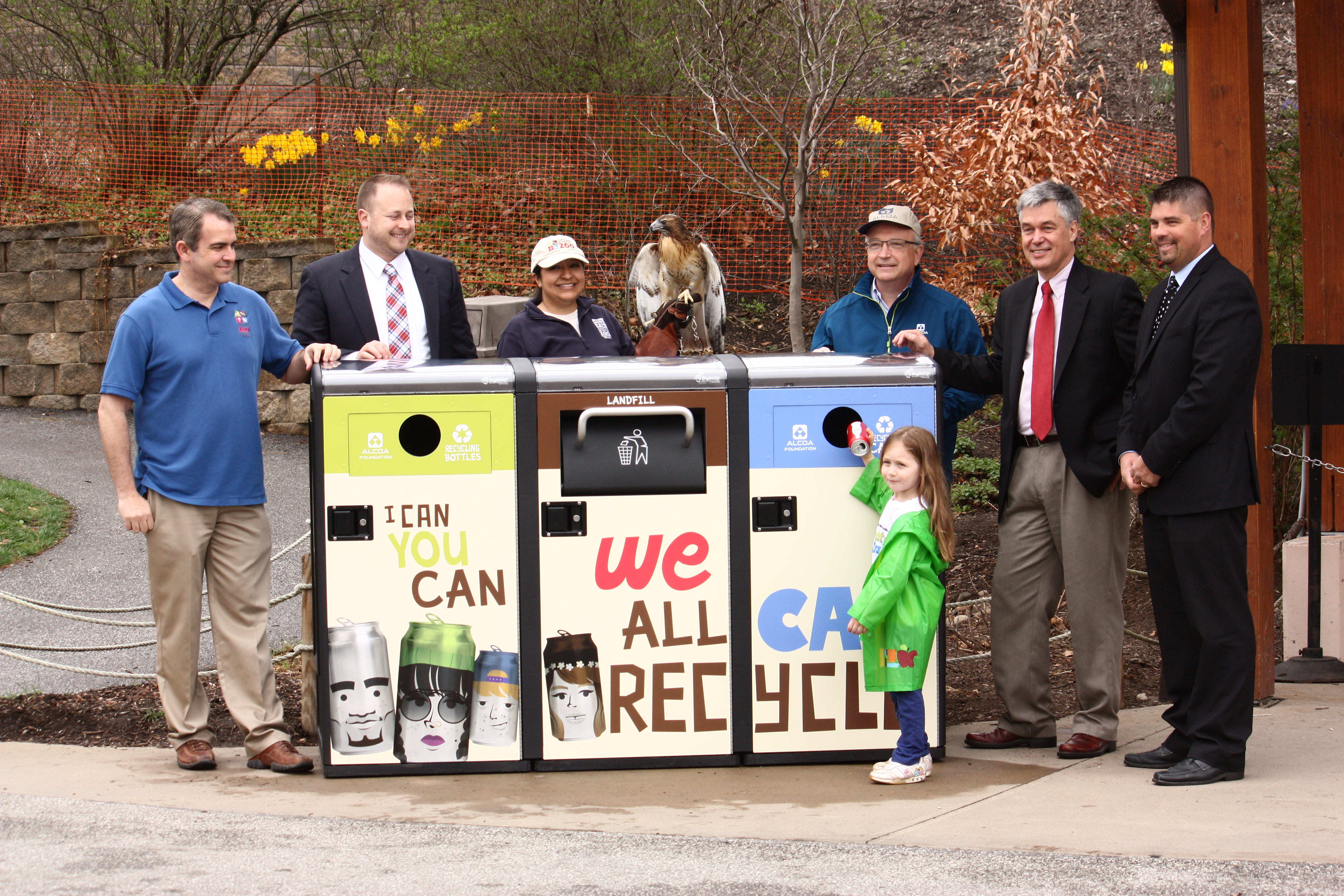CLEVELAND METROPARKS ZOO DEBUTS HIGH TECH SOLAR RECYCLING AND TRASH COMPACTORS DONATED BY ALCOA FOUNDATION