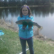 Rocky River Fishing Report - April 25, 2013