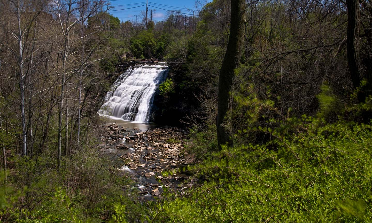 Mill Creek Falls Overlook