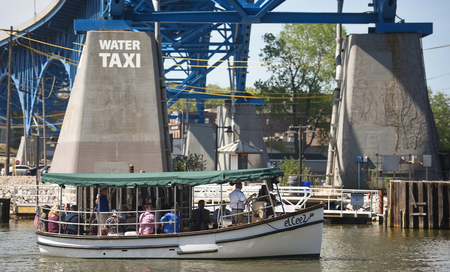 Celebrate the Cuyahoga River with Free Cleveland Metroparks Water Taxi Service Courtesy Of ArcelorMittal