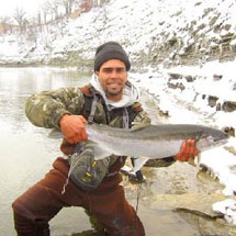 Rocky River Fishing Report - January 3, 2013