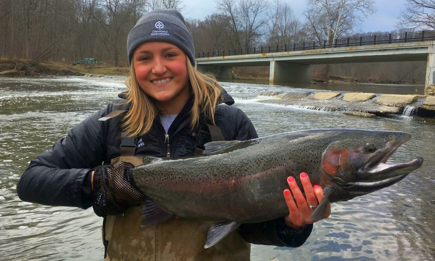 Lake erie rocky river fishing reports cleveland for Ohio river fishing report
