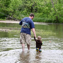 Rocky River Fishing Report - June 2013