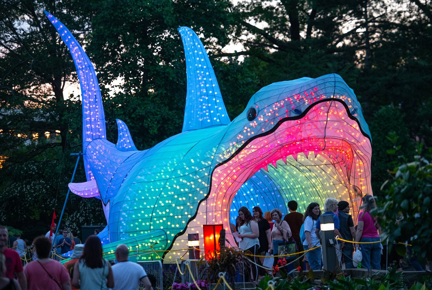 Cleveland Metroparks Asian Lantern Festival Attendance Tops 183,000, Sets New National Record
