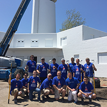 Sherwin-Williams Volunteers Begin Work Today to Beautify Historic U.S. Coast Guard Station