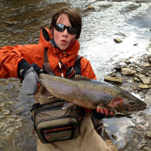 Rocky River Fishing Report - April 4, 2013