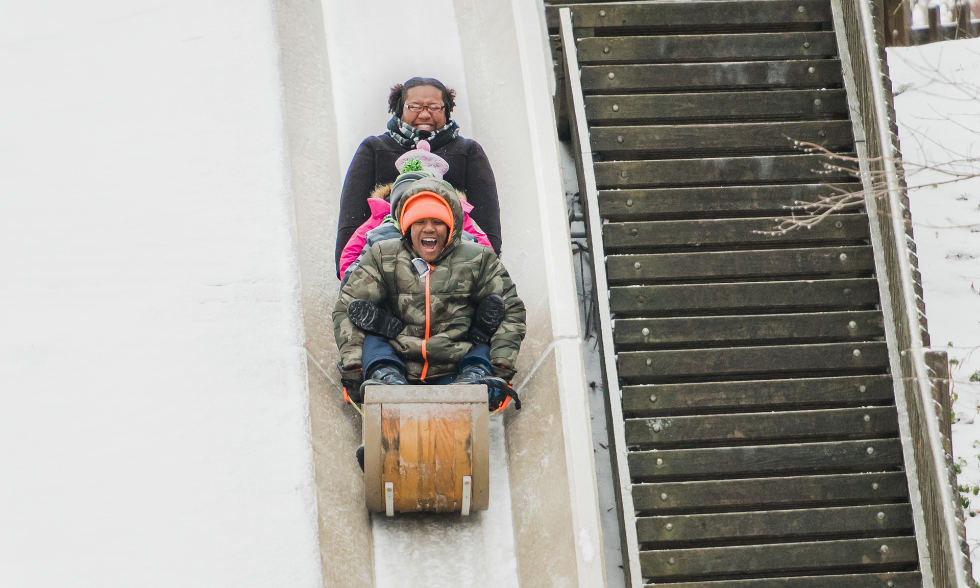Cleveland Metroparks Toboggan Chutes Open Friday, November 24
