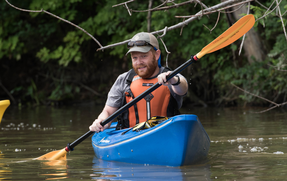 Run, Kayak and Bike through Cleveland Metroparks in the Ledges to Lake Adventure Race