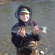 Rocky River Fishing Report - February 21, 2013