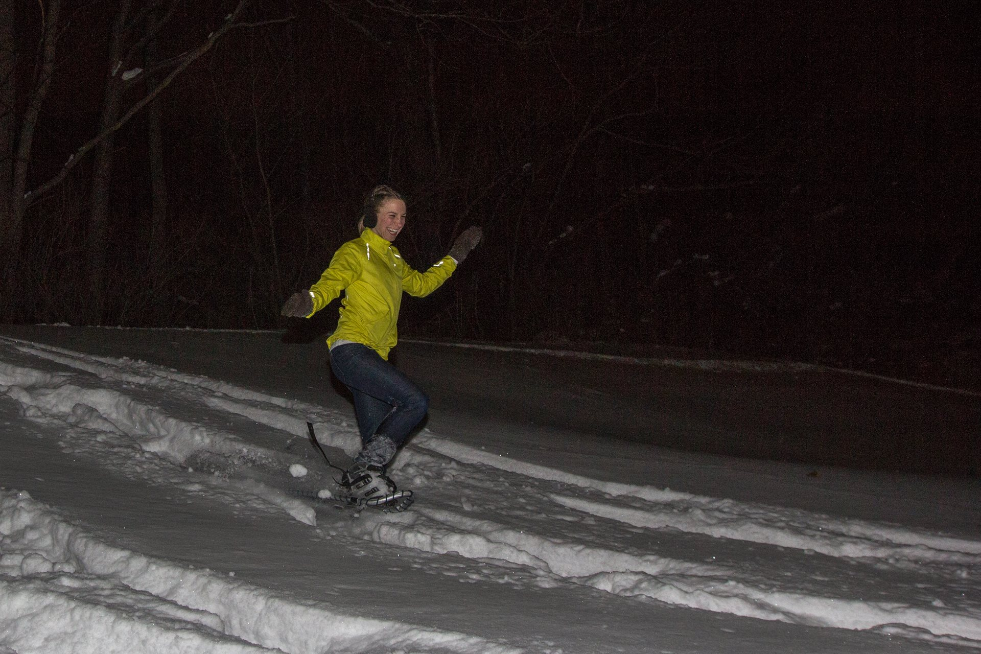 Snowshoe night