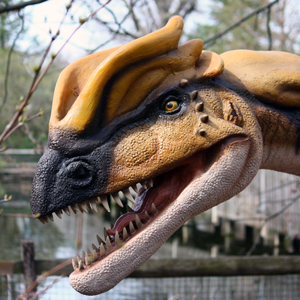 Dinosaurs! exhibit held over until September 29 at Cleveland Metroparks Zoo