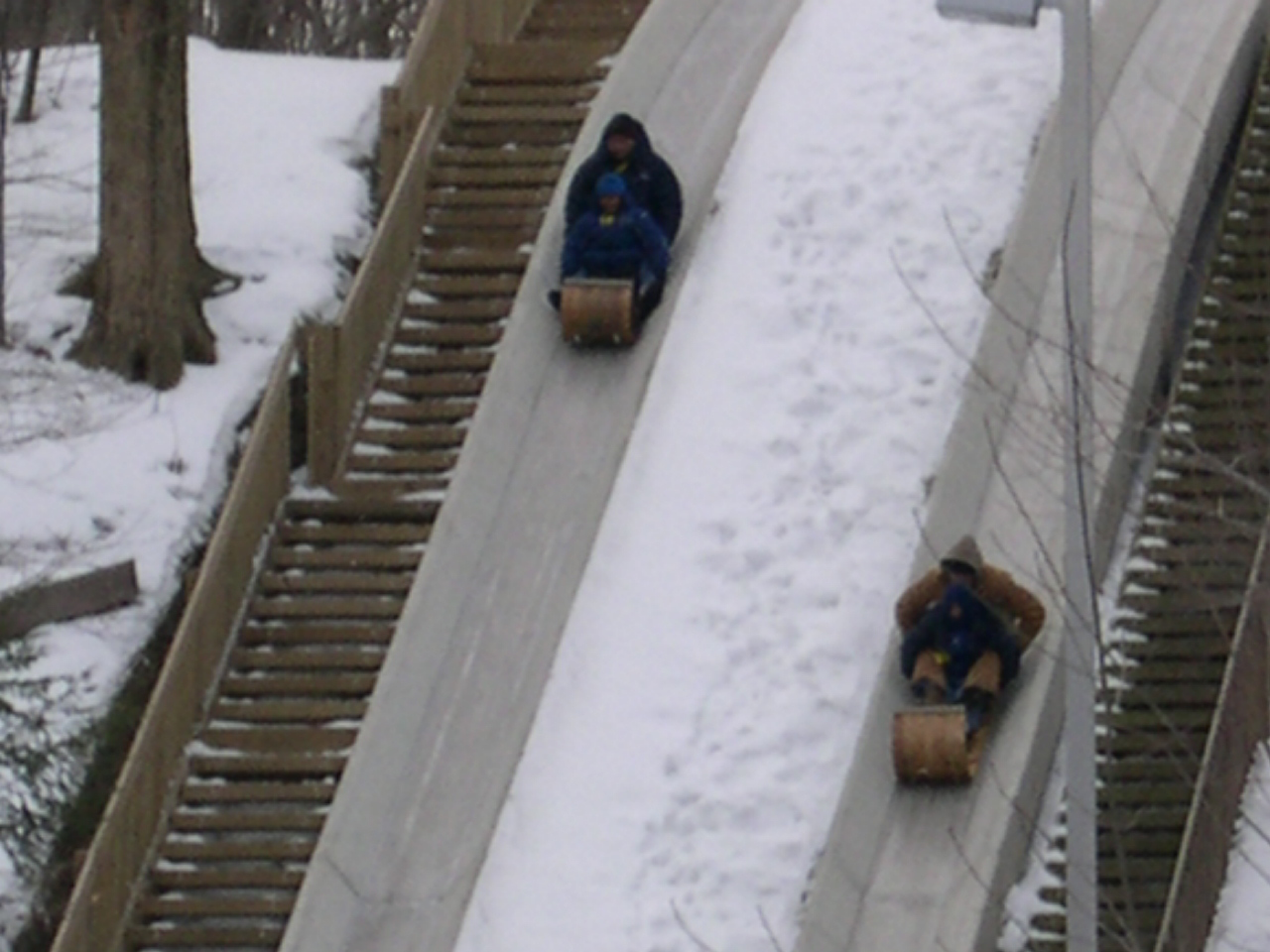TAKE ADVANTAGE OF SPECIAL HOLIDAY HOURS AND SWEETHEART DEALS AT CLEVELAND METROPARKS TOBOGGAN CHUTES
