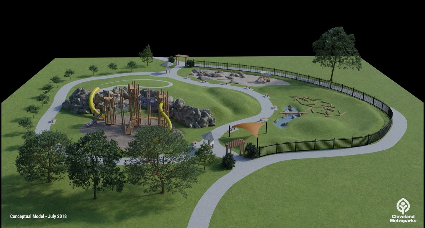 Cleveland Metroparks receives $250,000 donation for Edgewater Park Play Area