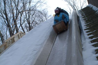 HANG ON TO YOUR HAT! COME OUT AND EXPERIENCE THE ICY THRILL OF CLEVELAND METROPARKS TOBOGGAN CHUTES ON OPENING DAY - FRIDAY, NOVEMBER 28