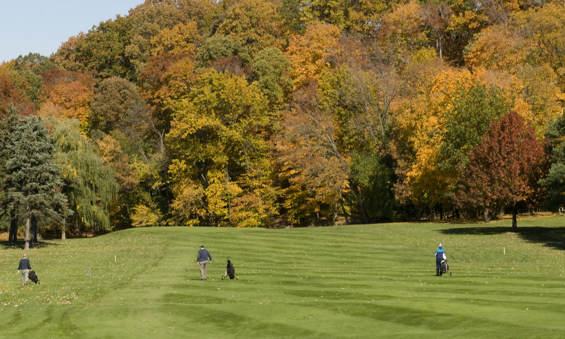 Little Met Golf Course in the Fall