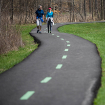 On the path to better living in Cleveland Metroparks . . . Walking Works!