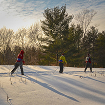 Big Met Golf Course is the place to try out new activities this winter
