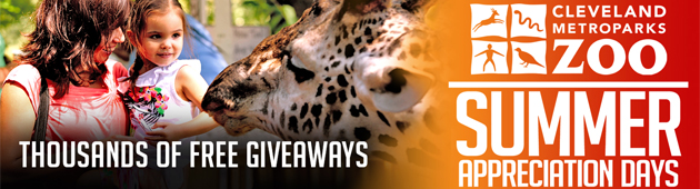 CLEVELAND METROPARKS ZOO ANNOUNCES FREE GIVEAWAYS FOR SUMMER APPRECIATION CELEBRATION, AUGUST 4 - 15