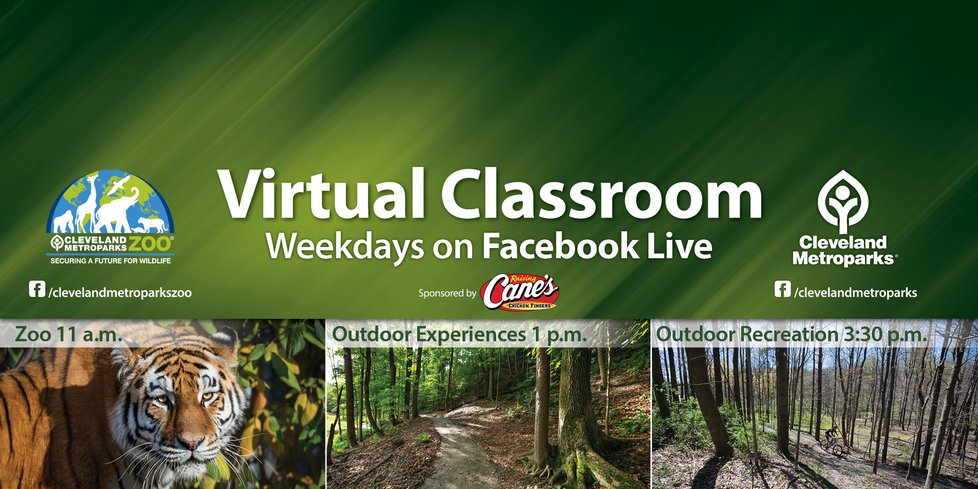 Cleveland Metroparks Expands Free Virtual Classroom