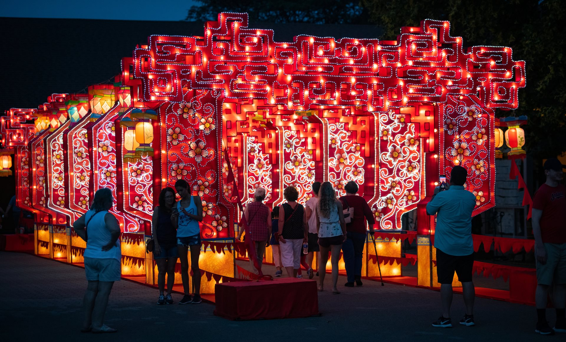 Cleveland Metroparks Adds Final Weekend of Asian Lantern Festival