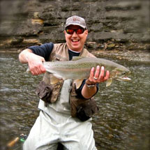 Rocky River Fishing Report - April 18, 2013