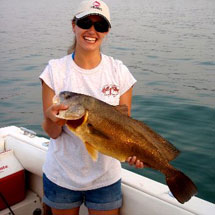 Rocky River Fishing Report - August 2012