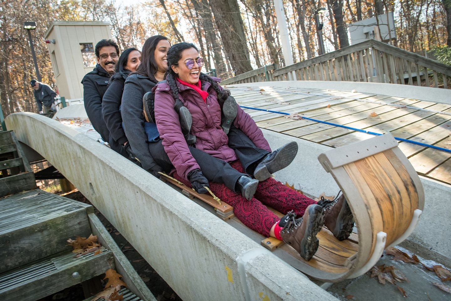 Cleveland Metroparks Toboggan Chutes Set to Open for the Winter Season
