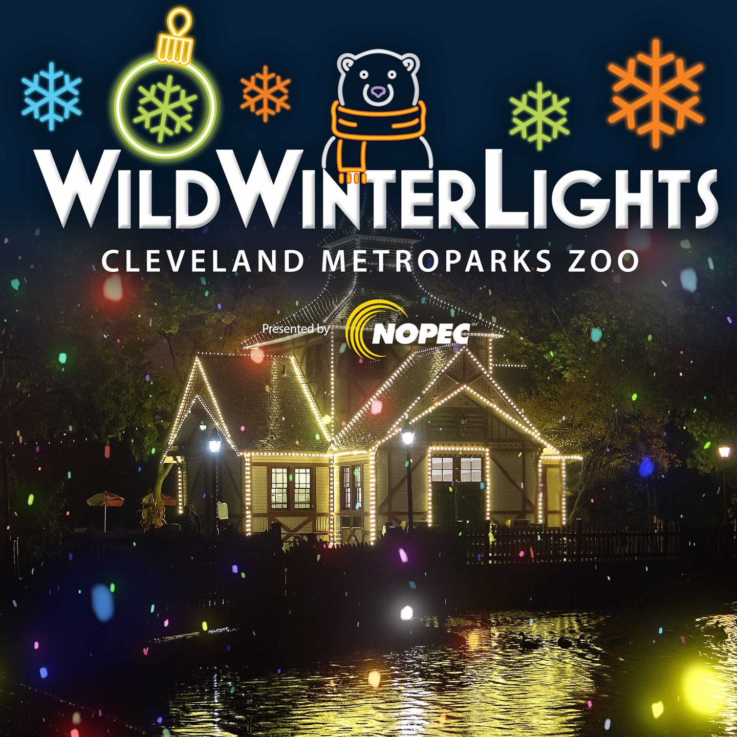 Cleveland Metroparks Zoo Announces Wild Winter Lights