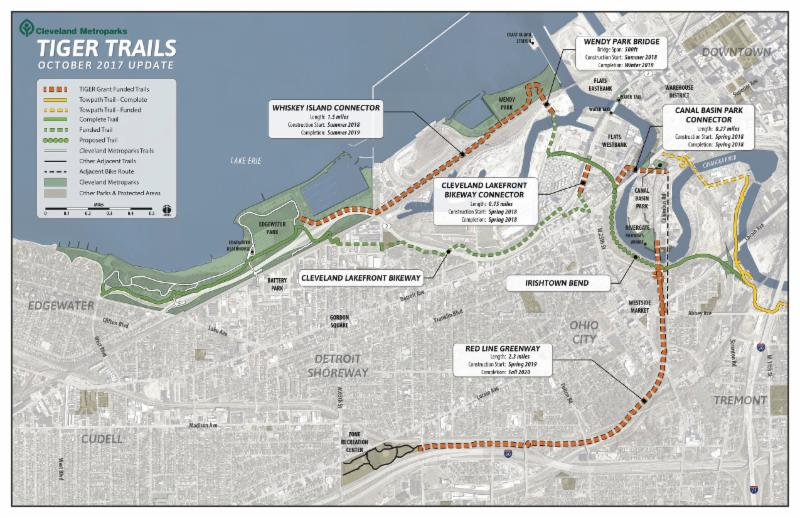 Cleveland Metroparks Secures Final Funds for Red Line Greenway