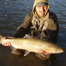 Rocky River Fishing Report - December 20, 2012