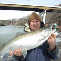 Rocky River Fishing Report - February 11, 2013