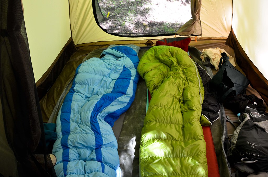 Outdoor sleeping gear