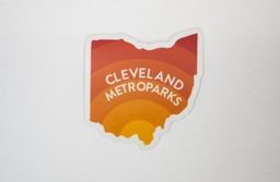 Cleveland Metroparks Sunset Sticker