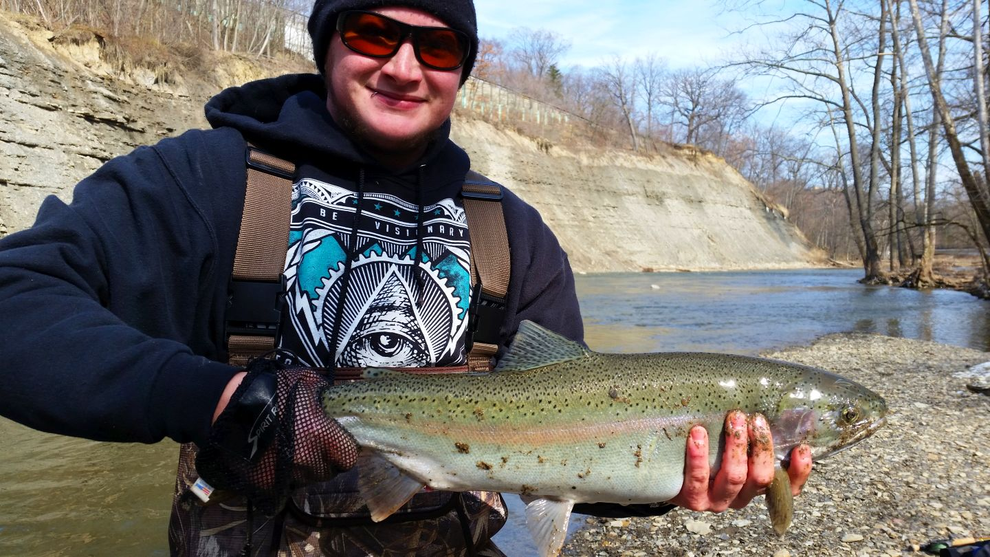 March 10 2017 cleveland metroparks for Cleveland fishing report