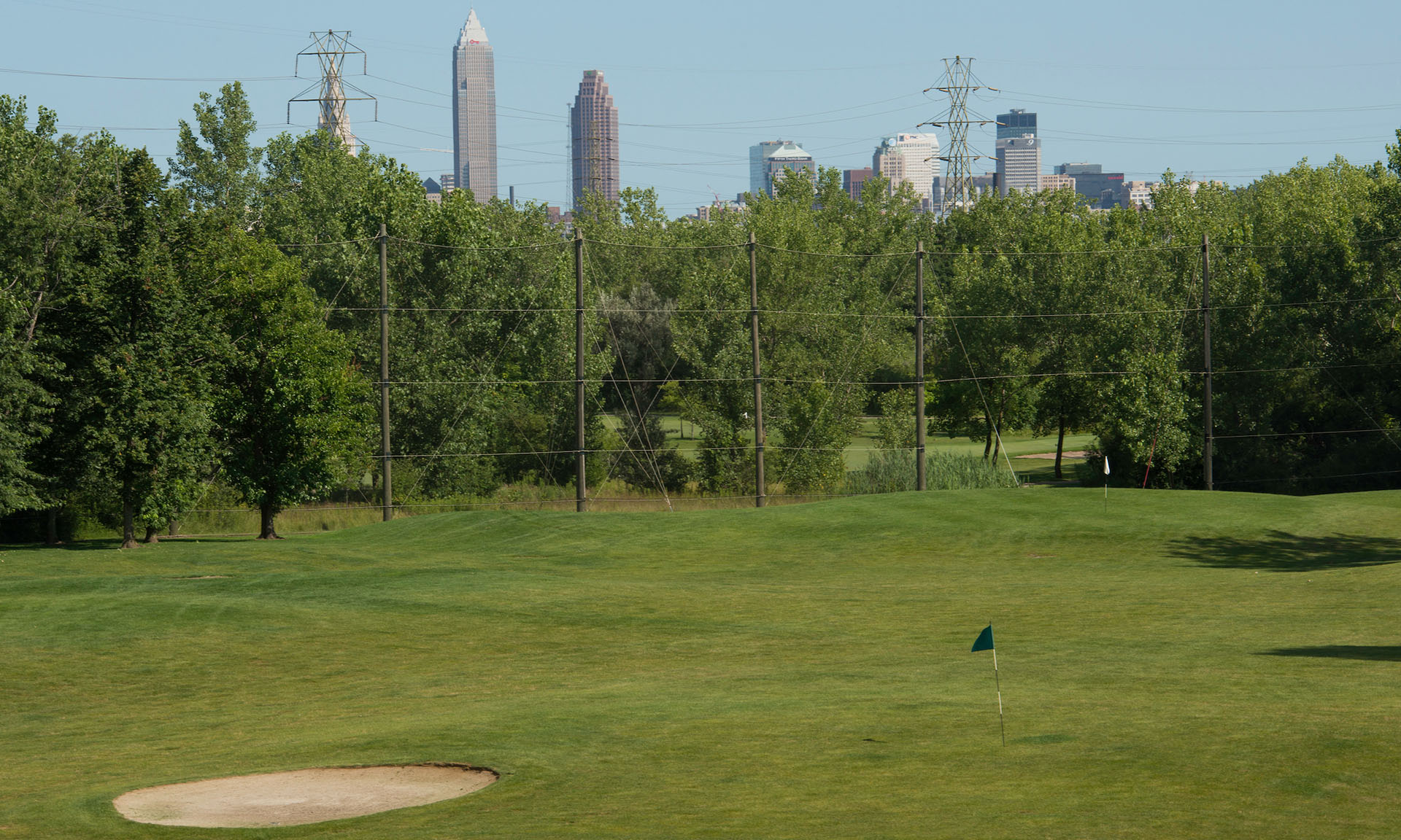 View of Cleveland at Washington Golf Course