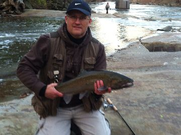 Rocky river fishing report november 8 2012 cleveland for Cleveland metroparks fishing report