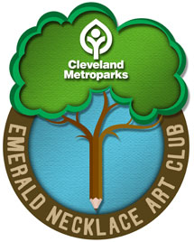 Emerald Necklace Art Club Logo