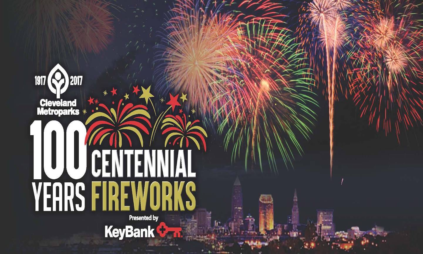 Centennial Fireworks presented by KeyBank