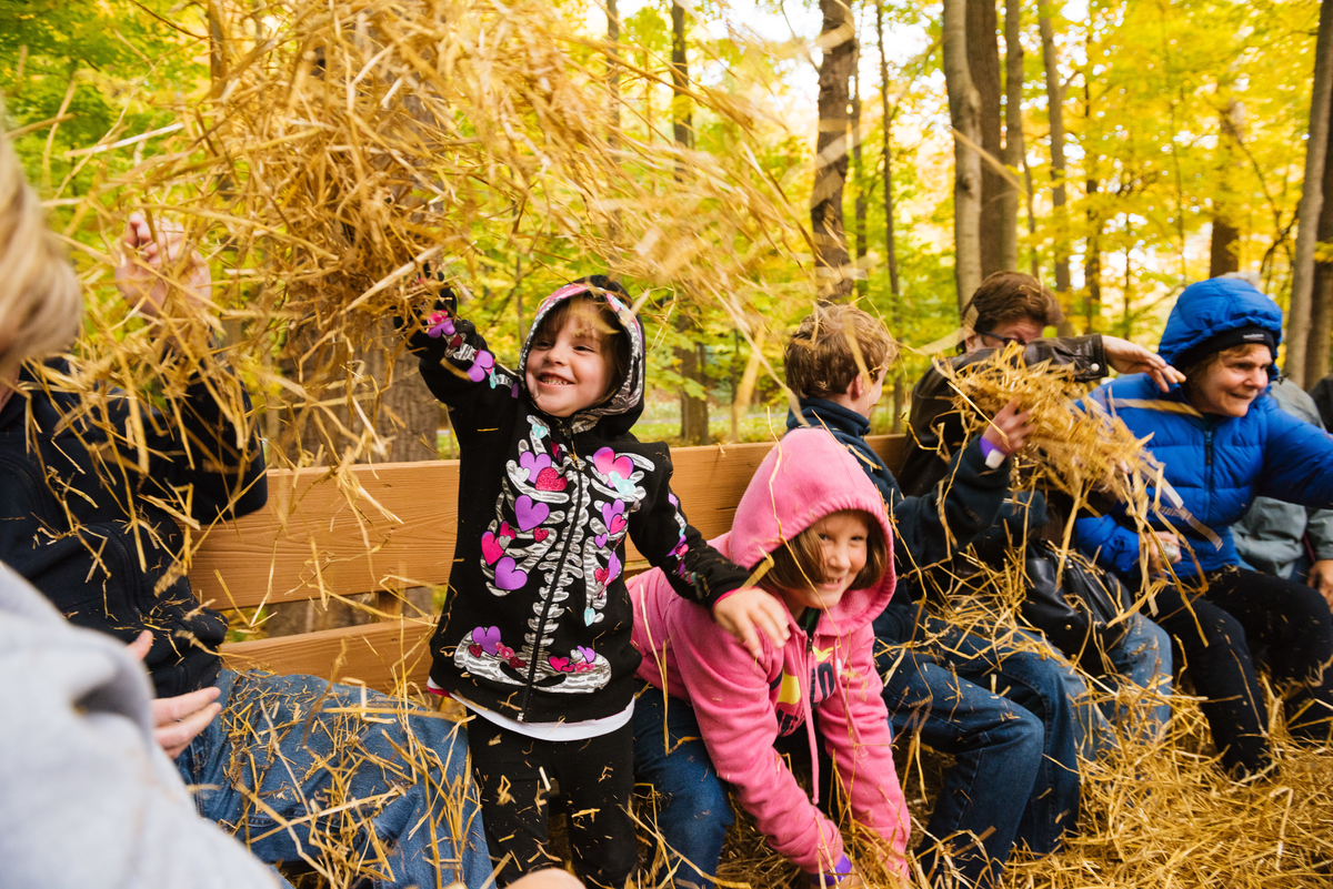 Celebrate Fall with Hayrides at the Chalet Recreation Area
