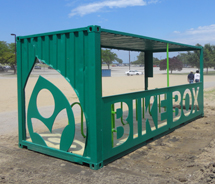 CLEVELAND METROPARKS DEBUTS  EDGEWATER BIKE BOX SPONSORED BY CHARTER ONE FOUNDATION